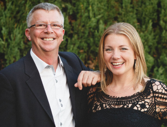 Laura Dibben & Michael Soffe of Andalucia Weddings & Events
